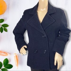 American Eagle Outfitters AEO Navy Peacoat…